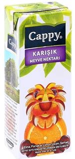 Cappy Karışık Meyve Suyu 200 Ml ürün resmi