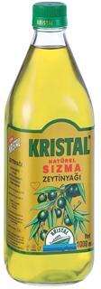Kristal Yumuşal Doğal Naturel Sızma Zeytinyağı Cam Şişe 1 Lt ürün resmi