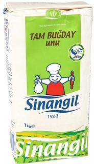 Sinangil Tam Buğday Unu 1 kg ürün resmi