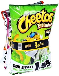 Cheetos Paket 3'lü ürün resmi