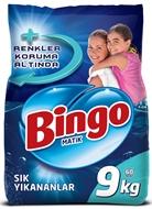 Resim Bingo Matik Sık Yıkanan Çamaşırlar İçin Toz Deterjan 9 kg