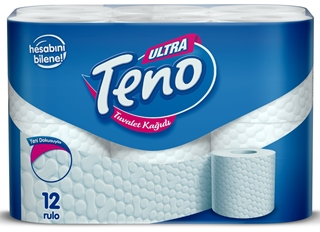 Teno Ultra Tuvalet Kağıdı 12 Rulo ürün resmi