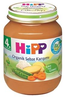 Hipp Organik Sebze Karışımı 125 gr ürün resmi
