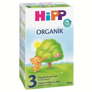 Picture of Hipp Organik 3 10 Aydan İtibaren Devam Sütü 300 gr