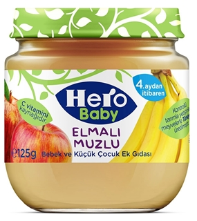 Hero Baby  Elmalı Muzlu 125 Gr ürün resmi