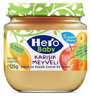 Hero Baby  Karışık Meyveli 125 Gr ürün resmi