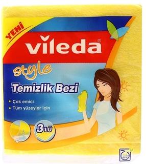 Vileda Temizlik Bezi 3 Adet ürün resmi