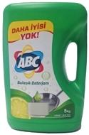 Resim Abc Bulaşık Deterjanı Misket Limonu 5 kg
