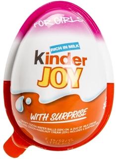 Kinder Joy Kızlara Özel Sürpriz Yumurta 20 Gr ürün resmi
