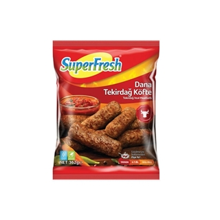 Superfresh Tekirdağ Köfte 362 Gr  ürün resmi