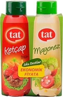 Tat Ketçap/Mayonez Set 650Ket+560May 2Li Set ürün resmi