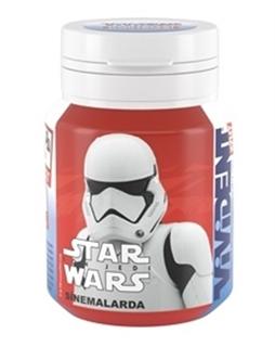 Vivident Bottle Star Wars Yeşil Nane 65 Gr ürün resmi