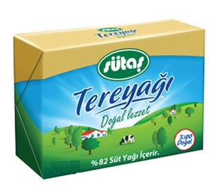 Sütaş Folyo Tereyağ Pastörize 100 Gr ürün resmi