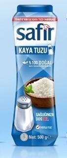 Safir Tuz Tuzluklu 500 gr ürün resmi