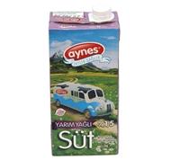 Picture of Aynes Süt Yarım Yağlı Uht 1000 Ml
