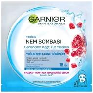 Resim Garnier Kağıt Maske Mavi 32 Gr