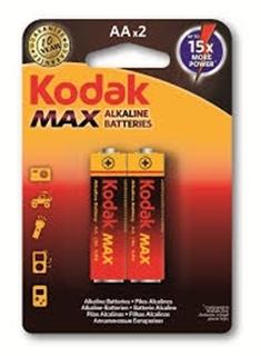 Kodak Kalem Pil Max Alkaline 2 Li ürün resmi