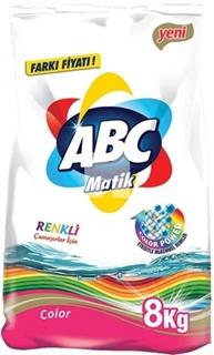 Abc Matik Color Toz Çamaşır Deterjanı 8 Kg ürün resmi