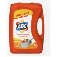 Resim Abc Sıvı Bulaşık Deterjanı Portakal 4000 Ml
