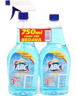 Abc Cam Temizleyici 750 Gr + 750 Gr Hediyeli ürün resmi