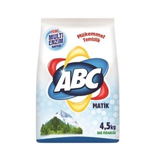 Abc Matik Dağ Ferahlığı Toz Çamaşır Deterjanı 4.5 Kg ürün resmi
