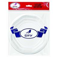 Resim New City Plastik Tabak Küçük 10'Lu