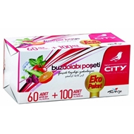 Resim New City Buzdolabı Poşeti 4'Lü Eko Paket