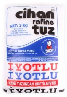 Cihan Tuz İyotlu 3 Kg ürün resmi