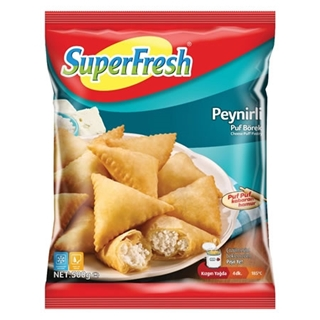 Superfresh Peynirli Puf Börek 500 Gr ürün resmi