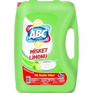 Resim Abc Bulaşık Deterjan 4kg Misket Limonu
