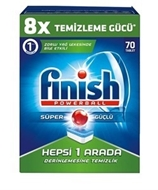 Picture of Finish Hepsi 1 Arada 70 li Tablet Deterjan