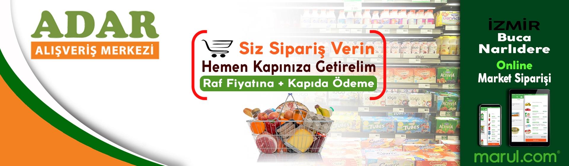 izmir adar alışveriş merkezi online market alışverişi