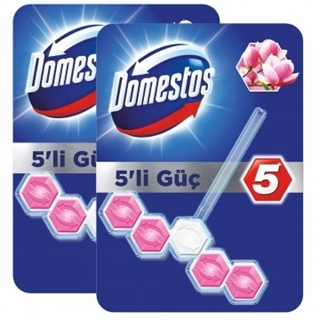 Domestos Wc Blok Duopack Manolya 5 Li ürün resmi