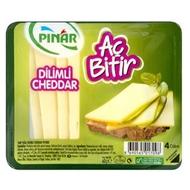 Resim Pınar Cheddar Dilim Aç Bitir 60 Gr