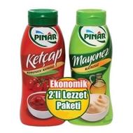 Resim Pınar Ketçap Mayonez 600 Gr+500 Gr