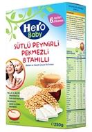 Picture of Hero Baby Sütlü 8 Tahıllı Peynirli Pekmezli 400 Gr