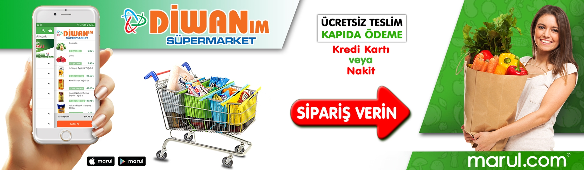 şırnak cizre divan süpermarket online market alışverişi