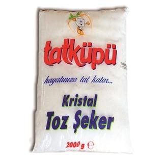 Tatküpü Kristal Toz Şeker 2000 Gr ürün resmi