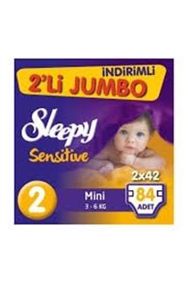 Sleepy Çocuk Bezi 2Li Jumbo 84 Lü Mini ürün resmi