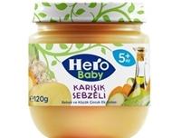 Picture of Hero Baby Kemik Sulu Karışık Sebzeli 120 Gr