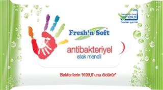 Fresh'N Soft  Islak Mendil Antibakteriyel 60 Lı ürün resmi