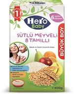 Picture of Hero Baby Sütlü 8 Tahıllı Meyveli 400 Gr