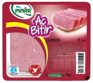 Pınar Dana Jambon Aç Bitir 50 Gr ürün resmi