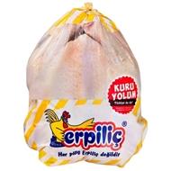 Resim Erpiliç Bütün Tavuk Poşetli