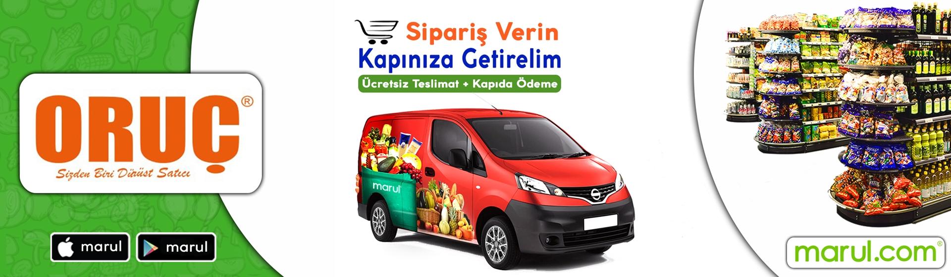 oruç market istanbul online market siparişi