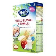 Picture of Hero Baby Sütlü 8 Tahıllı Elmalı 200 Gr