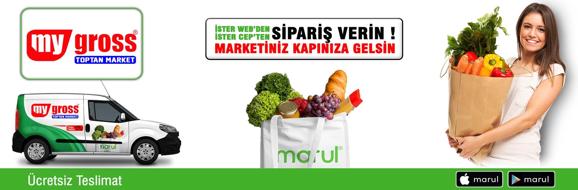 konya karatay my gross toptan market online market alışverişi