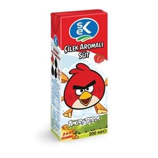 Sek Süt Çilekli 200 Ml ürün resmi