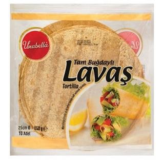 Unabella Tortilla Tam Buğday 25 Cm 10 Lu 650 Gr ürün resmi