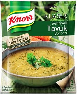 Knorr Şehriyeli Tavuk Çorbası 51 Gr ürün resmi